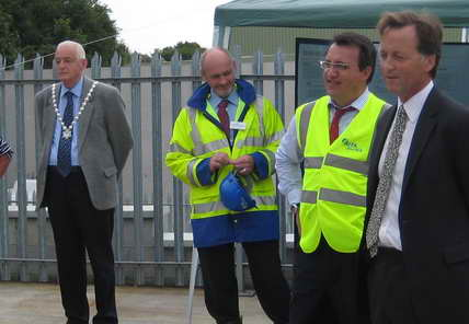 mayor at St. Erth opening